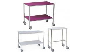 Tables à instruments de bloc opératoire