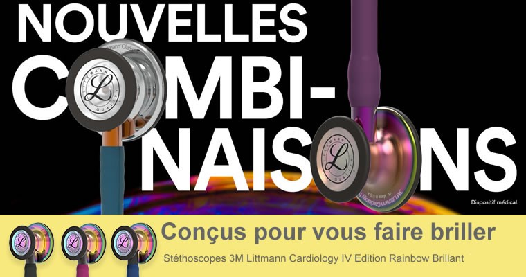 Littmann Cardiology 4 Rainbow edition